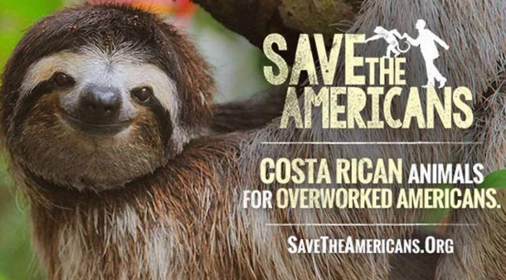 Save the Americans campaña del ICT