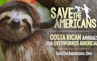 Save the Americans! A funny campaign promoting Costa Rican Tourism
