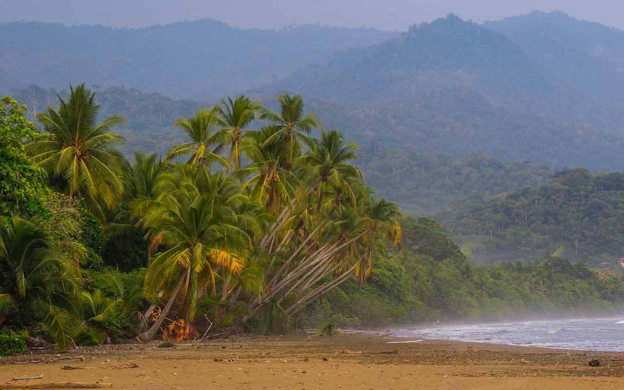 A typical Costa Ballena beach