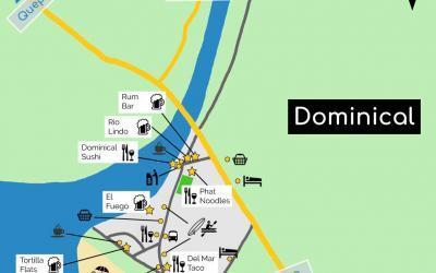 Mapa de Dominical