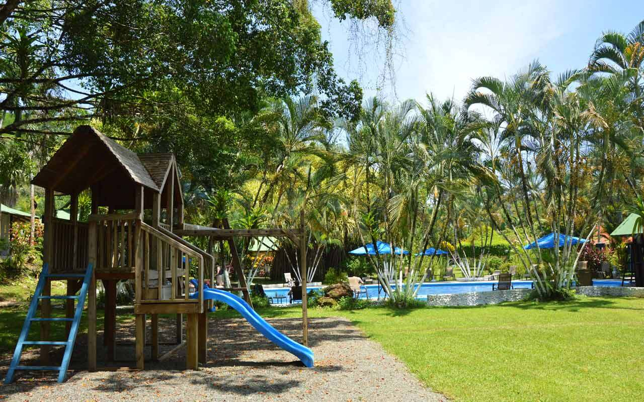 Playground at Hotel Villas Rio Mar, Dominical