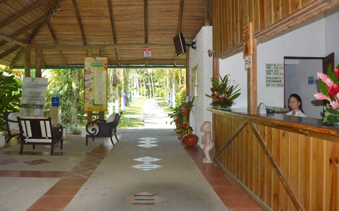 Reception at Hotel Villas Rio Mar, Dominical
