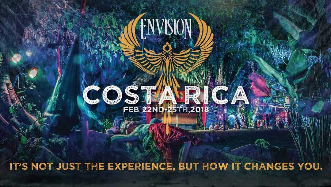 Envision Festival 2018; 4 days of world class Music, Yoga, Surf and more!
